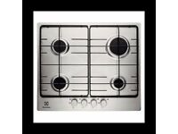 Electrolux Stainless Steel Gas Hob 60cm - NEW - EX-DISPLAY