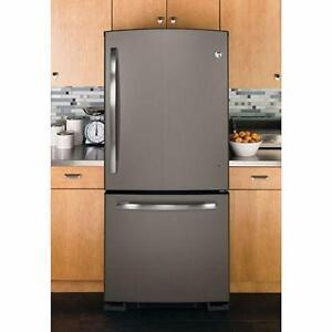 30'' Slate refrigerator, freezer drawer