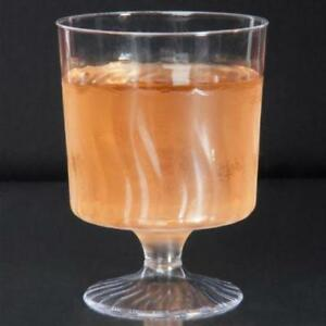 5.5 oz. Clear Plastic Wine Cup - 1 Piece 240 / Case .*RESTAURANT EQUIPMENT PARTS SMALLWARES HOODS AND MORE*