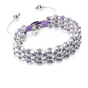 50% OFF All Jewellery - Silver Kismet Links | Radiant OrchidBracelet