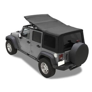 JEEP JK Wrangler Unlimited 4 Door Soft Top Factory Mopar MINT!!!