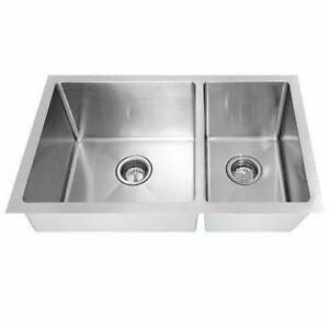 Éviers en stainless LUX NEUFS - 9 modèles  / 9 New Stainless Steel Sinks