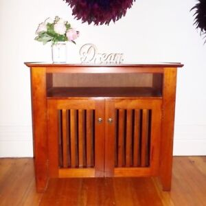 Solid wood tv unit cabinet sideboard Cremorne Point North Sydney Area Preview