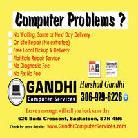 Computer Repairs - Free estimate at your door. Lowest flat rate