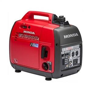 2017 Honda EU2000I Inverter - Great Deals