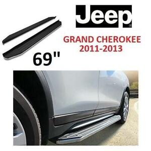 NEW APS 69 RUNNING BOARDS RB-J0277S 245837586 JEEP GRAND CHEROKEE 2011 TO 2013 AUTO AUTOMOTIVE CAR