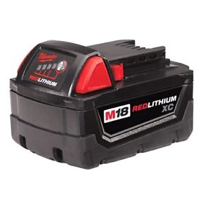 Milwaukee M18 high capacity XC battery