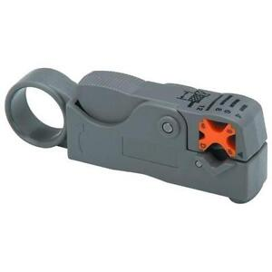 Ou Bao 2-Blades Rotary Coaxial Cable Stripper for RG-58, 59, 62,