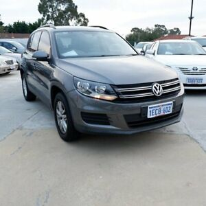 2011 Volkswagen Tiguan 5N MY12 118TSI 2WD Grey 6 Speed Manual Wagon St James Victoria Park Area Preview