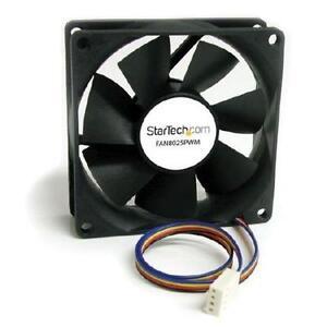 StarTech 80x25mm Computer Case Fan with PWM ??? Pulse Width Modula