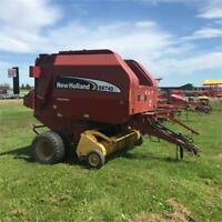 New Holland BR740A Round Baler Moncton New Brunswick Preview