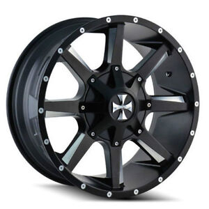 "We carry the ALL NEW 20"" Cali offroad Rims!"