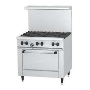 Garland SunFire Series X36-2G24R 2 Burner Gas Range . *RESTAURANT EQUIPMENT PARTS SMALLWARES HOODS AND MORE*