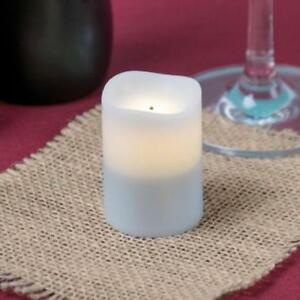 Warm White Rechargeable Flameless Replacement Votive - 4/Pack *RESTAURANT EQUIPMENT PARTS SMALLWARES HOODS AND MORE*