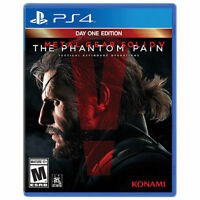 Metal Gear Solid V: The Phantom Pain Day One Edition (BNIB)