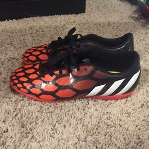 Size 8 indoor soccer shoes
