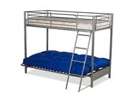 Double futon with high single sleeper excellent condition futon mattress