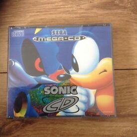 Mega cd game sonic rare
