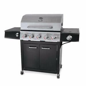 BRAND NEW Backyard Grill 5-Burner Propane Gas Grill - Stainless Steel - LP