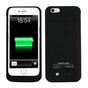 iPhone 4 5 5s 6 External Battery Backup Charging Power Case Etui
