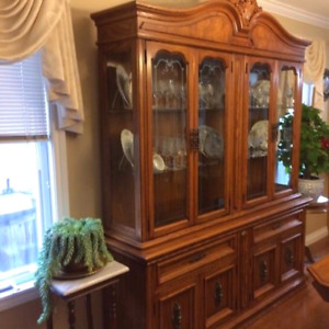 China Cabinet and Table For Sale