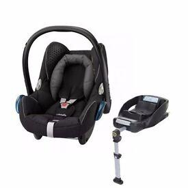 Maxi-Cosi CabrioFix 0+ Car Seat in Black with Easyfix Isofix