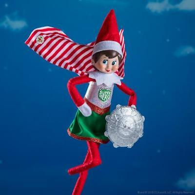 NEW 2018 Elf On The Shelf Claus Couture Scout Elf Super Hero Girl CCHEROGIRL