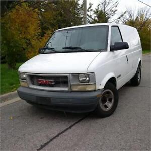 2001 GMC Safari Cargo Van. Well Maintained Cert. call 9054322277