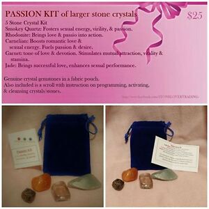Larger 5-Crystal Passion Stone Kit