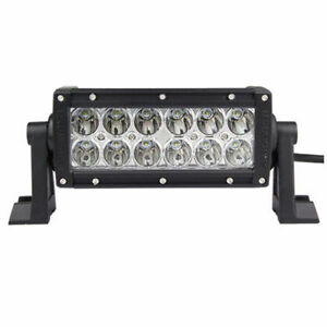 7.5inch 36W LED WORK LIGHT BAR SPOT LAMP VAN TRACTOR For sale