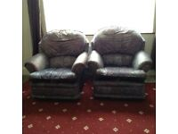 Free. 2 x single seater. And 1 x three seater