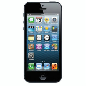 Apple MD293C/A 16GB Telus iPhone 5 Smartphone - Black/Grey