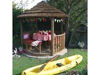 Savannah Breeze House Wooden Gazebo RRP - £10,000