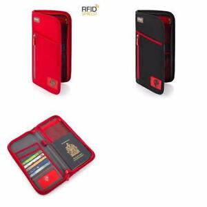 Heys RFID Blocking Passport Travel Wallet Documents Organiser Ho