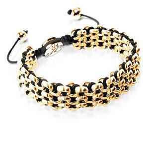 50% OFF All Jewellery - Gold Kismet Links   BlackBracelet