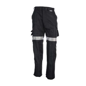 Coolworks Hi-Vis Ventilated Pants Black Style CW1[new] 30X32