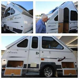 #1872 Avan 15' caravan camper,  Heron A/C, Awning 12reg Penrith Penrith Area Preview