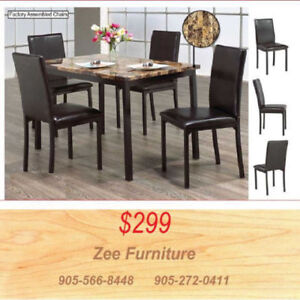 ** Brand New ** 5 Pieces Dinette Set ** 9 **