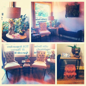 Practice Space Available in Busy Boutique Wellness Clinic