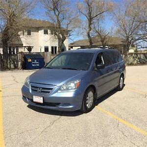2006 Honda Odyssey LX with only 127,000 km's!