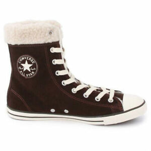Chuck Taylor Dainty XHi 540305C Suede Hi Top shoes size 6 new