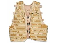 New Current British Army Tactical Vest Desert DPM Load Carrying Molle Combat Assault Unused Security