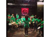 Jubacana: Brazilian inspired percussion (and dance) for 8-18s in Oldham