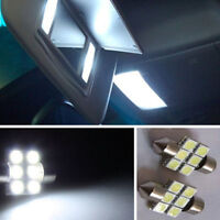 Bright White LED INTERIOR DOME T10 FESTOON LICENCE PLATE TRUNK
