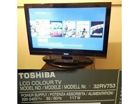 TOSHIBA 32RV753 32 INCH HD 1080P LCD TV