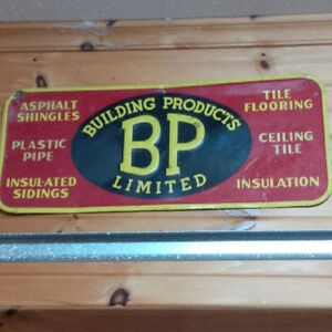 Sign- BP Building Products- Ceramic