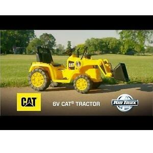 NEW KIDTRAX CAT TRACTOR RIDE ON - 113310712 - 6V KID'S RIDE-ON TOY - BATTERY POWERED BULLDOZERS TRACTORS RIDE-ONS