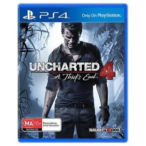 Uncharted 4 PS4 Game Brand New