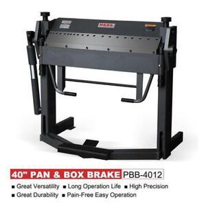 "PBB-4012 40"" 12 Gauge Pan and Box Brake Foot Clamp Folding"