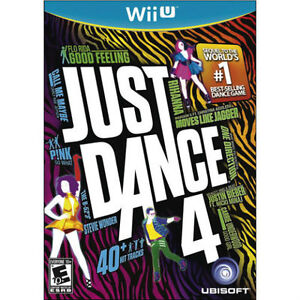 Just Dace 4 (Wii U) Only used a couple of times